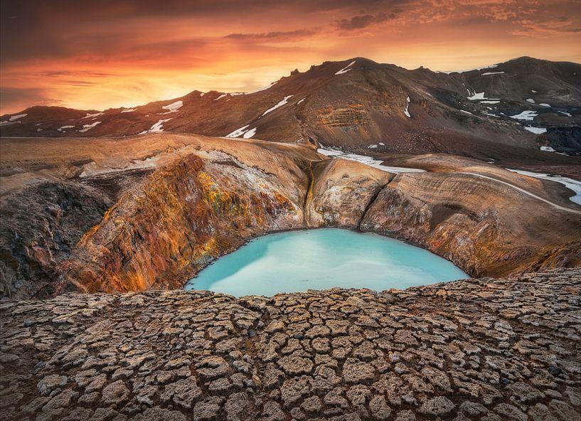 Viti Crater, Iceland von FineArt Prints | Zwerger-Schoner |