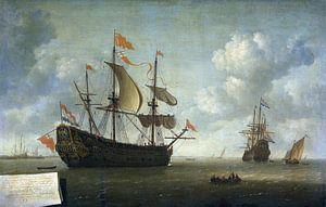 De komst van de Koninklijke Karel, Jeronymus van Diest