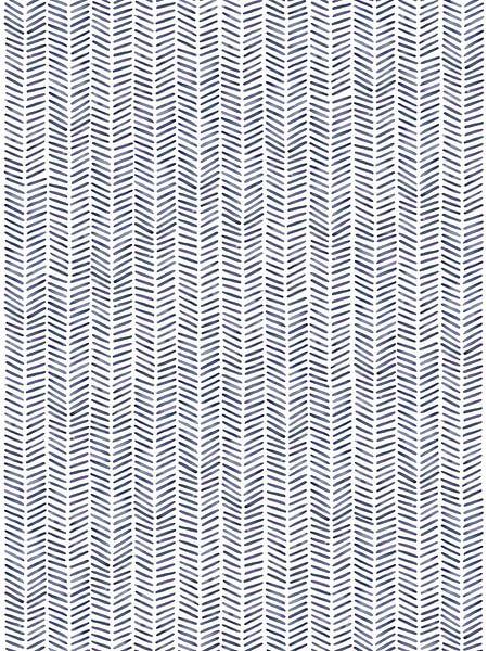 "Visgraat behang ""Winter'' van Natalie Bruns"