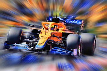Lando Norris - McLaren van DeVerviers