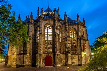 Die Grote oder Onze Lieve Vrouwenkenkerk in Dordrecht. von Linda de Waard