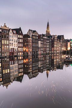 Der Damrak, Amsterdam von Nick de Jonge - Skeyes