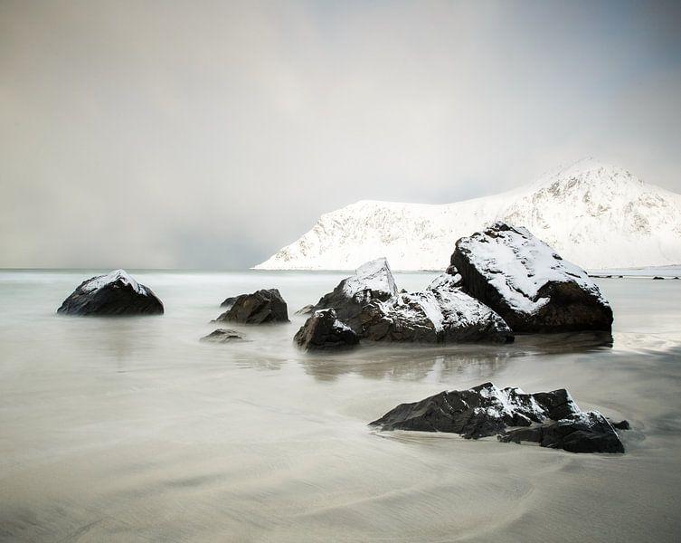 Het strand van Skagsanden van Nando Harmsen