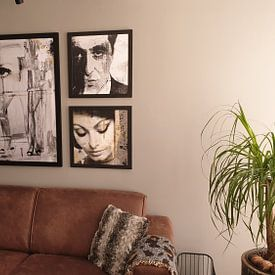 Photo de nos clients: Sophia Loren sur Mirjam Duizendstra, sur poster