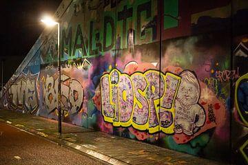 Grafitti Groningen van B N.