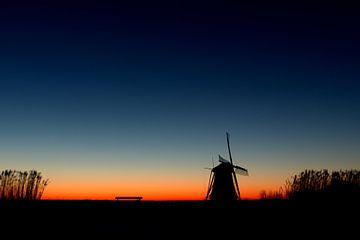 Kalter Morgen an den Rottemeren von Pieter van Marion