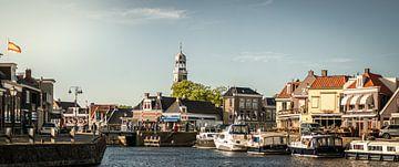Innenhafen von Lemmer, Friesland. von By Derk