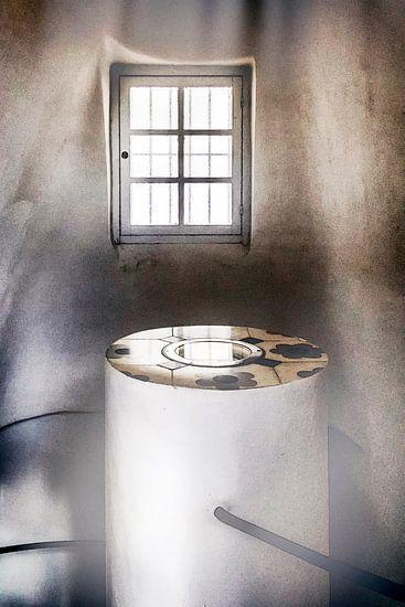 Vensterlicht, window van Yvette Bauwens