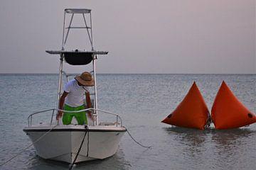 Man op zee van Ron Steens