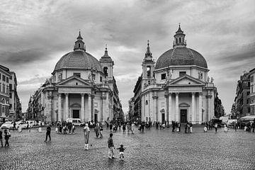 Piazza del Popolo, Rom von Claudia van Vulpen Lenssen
