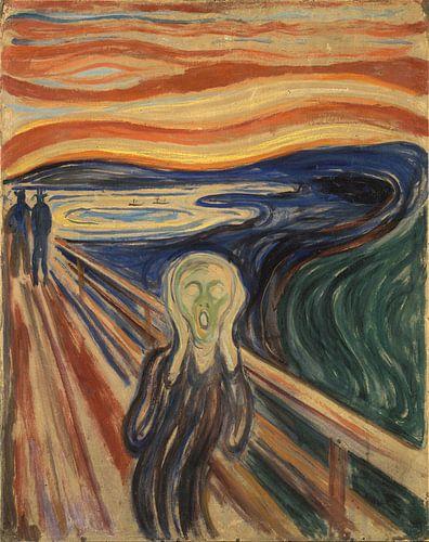 De Schreeuw van Edvard Munch van
