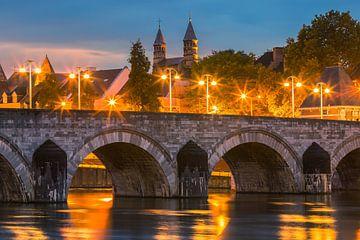 Sint Servaasbrug, Maastricht van Henk Meijer Photography