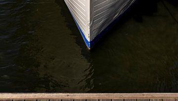 Boot vanaf de steiger van Percy's fotografie