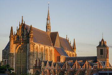 Hooglandse kerk in Leiden van Dirk van Egmond