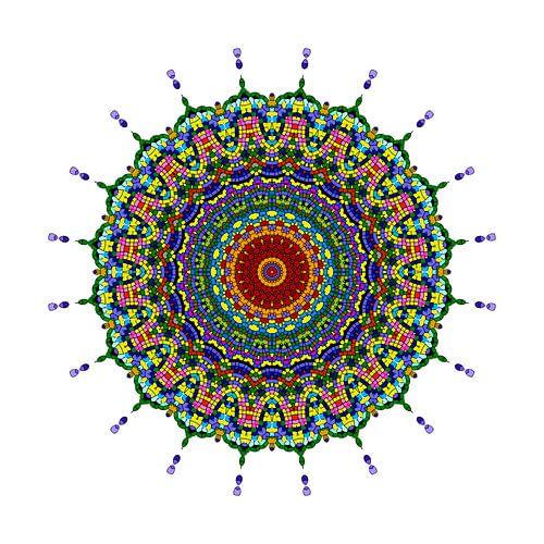 Mandala van de vlinder