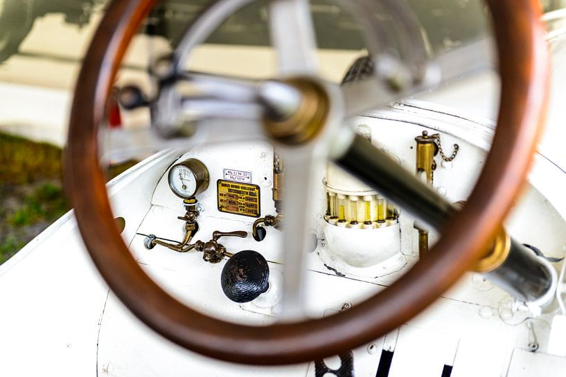 Mercedes 120 PK klassieke 1906 racewagen van Sjoerd van der Wal