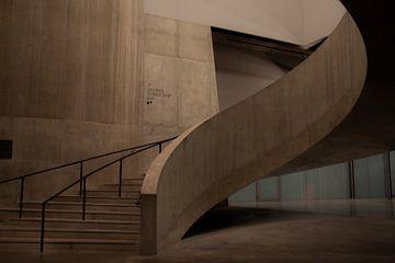 Escalier Spiral Tate Modern London sur Nynke Altenburg