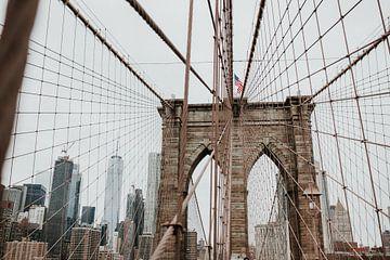 Brooklyn Bridge in New York City | Farbenfrohe Reisefotografie von Trix Leeflang
