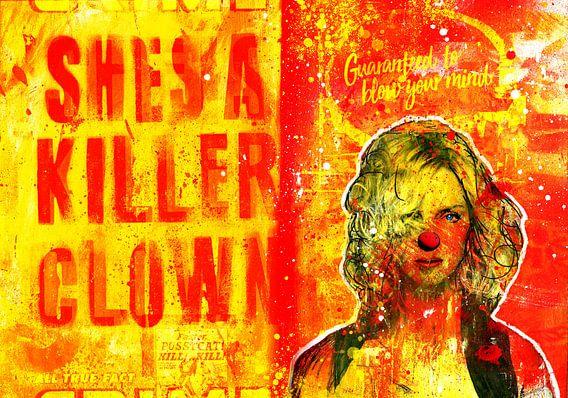 She's A Killer Clown van Feike Kloostra
