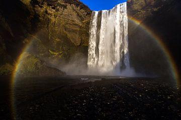 Waterval IJsland van Mariel Sloots
