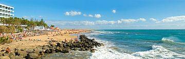 Playa del ingles on Grand Canary van Leopold Brix