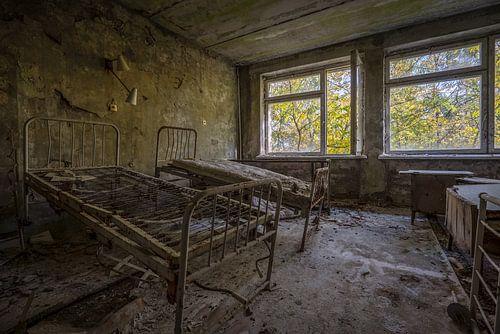 Hospitaalkamer van МСЧ-126 Medico in Pripyat