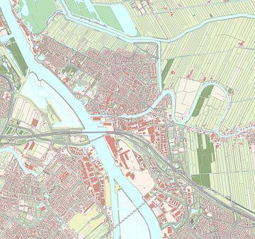Kaart vanAlblasserdam