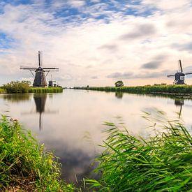 Traditional Dutch Windmills Kinderdijk World Unesco heritage von Sander Meertins