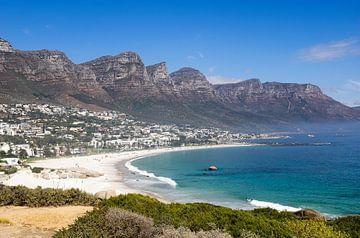 Blick auf die 12 Apostel Kapstadt von Karin vd Waal