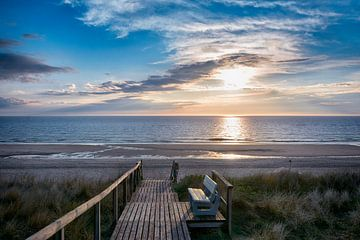 Strandabend von Joachim G. Pinkawa