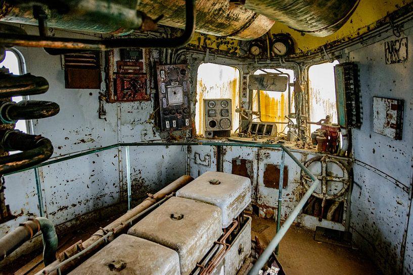 Maschinenraum Orient Express von Danny de Jong