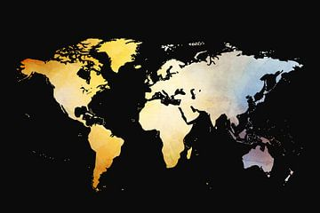 Weltkarte sur Felix Brönnimann