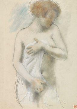 Nackte Frau, stehend, Armand Rassenfosse von Atelier Liesjes