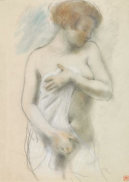 Naakte vrouw, staand, Armand Rassenfosse