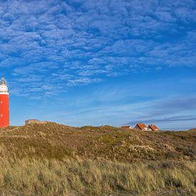 Panorama Texel duinlandschap / Texel dune landscape von Justin Sinner Pictures ( Fotograaf op Texel)