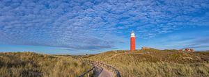 Panorama Texel duinlandschap / Texel dune landscape van