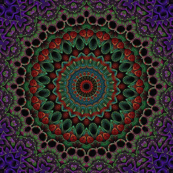 Mandala Style 79 van Marion Tenbergen