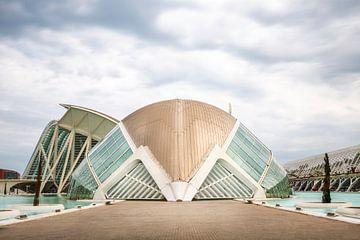 L'architecte valencien Santiago Calatrava sur Silvia Thiel