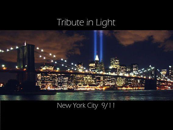 Tribute in Light New York City 9/11