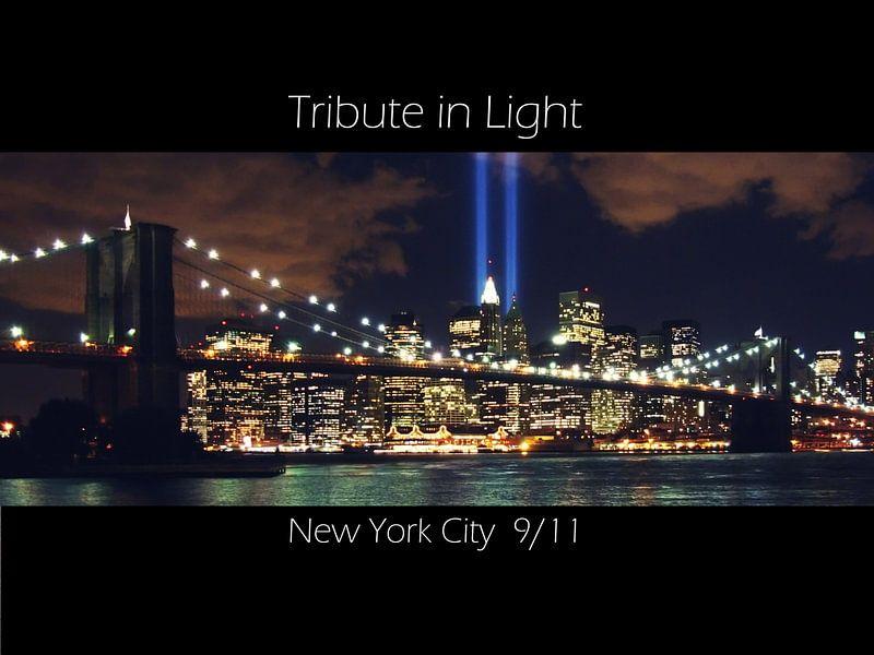 Tribute in Light New York City 9/11 sur Tammo Strijker