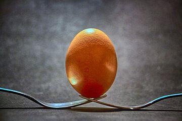 Ei op vorken