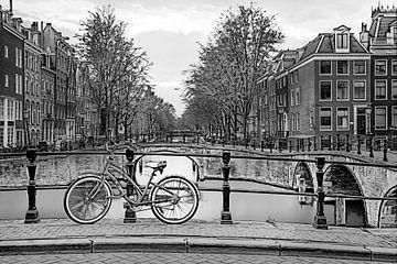 Grafisch Amsterdam Keizersgracht sur Dennisart Fotografie