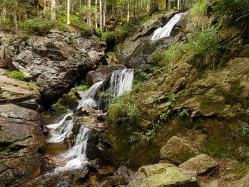 Riesloch Watervallen bij Bodenmais, Beieren 10 van Jörg Hausmann