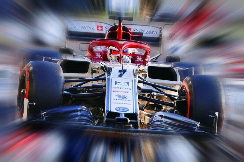 Kimi Räikkönen and Alfa Romeo F1 von Jean-Louis Glineur alias DeVerviers