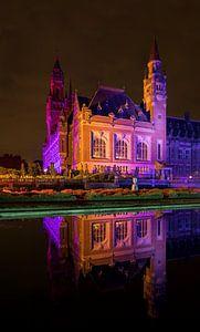Palais de la Paix de nuit sur Maurice Haak