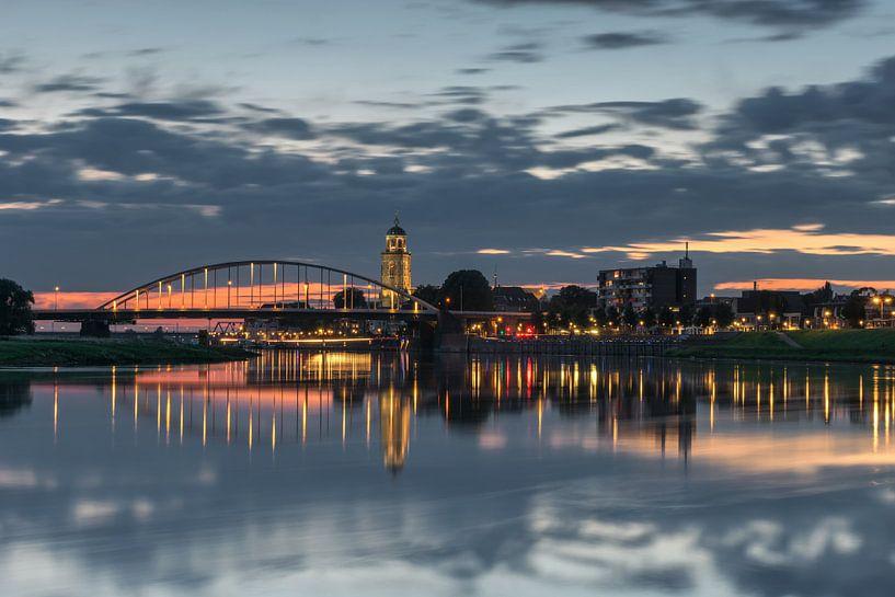 Deventer Skyline van Jan Koppelaar
