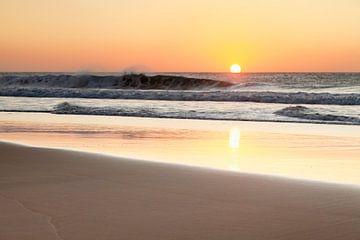 Zonsondergang aan zee in Fuerteventura van Markus Lange