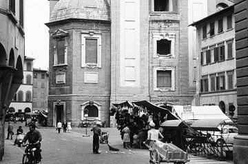 Italienisches Straßenbild 50er Jahre von Jaap Ros