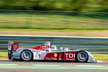 Audi R10 TDI Le Mans Series Voiture de course sur Sjoerd van der Wal