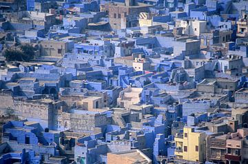 Die blaue Stadt von Dick Termond